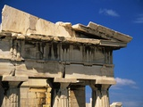 Corner Pediment of the Propylaia in the Acropolis Photographic Print by Ken Glaser