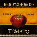 Old Fashioned Tomato Prints by Kimberly Poloson