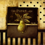 Poire Prints by Kimberly Poloson