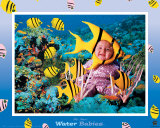 Water Babies, Yellow Fish Posters by Tom Arma