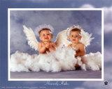 Bebés divinos: 2 ángeles Pósters por Tom Arma