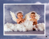 Heavenly Kids, Two Angels Posters by Tom Arma