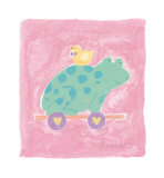Frog Toy Posters by Karen Anagnost