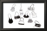 Ten Handbags Prints by  Tina
