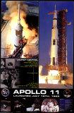 Apollo 11 Launch - Poster