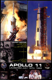 Apollo 11 Launch Posters