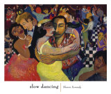 Slow Dancing Poster by Sharon Kennedy