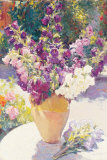 Flower Vase Print by Edward Noott