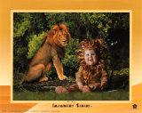 Imaginary Safari, Lion Prints by Tom Arma