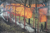The Gates, Photo No. 28 Plakat av  Christo
