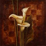 Ochre Ajedrez II Art by Patricia Quintero-Pinto