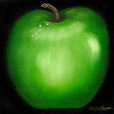 Manzana verde Pósters por Nelly Arenas