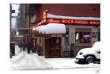 Classic Rock Bar, Winter Art by Igor Maloratsky