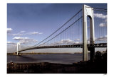 Fort Verrazano Bridge Poster by Igor Maloratsky