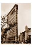 Flatiron Building Print by Igor Maloratsky