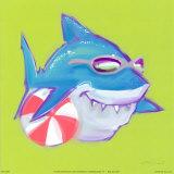 Beached Shark Art par Anthony Morrow