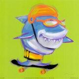 Ataque de tiburones Láminas por Anthony Morrow