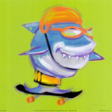 Shark Attack Prints by Anthony Morrow