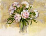 Peonies I Art by Carol Elizabeth