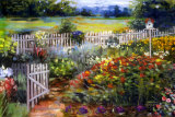 Elaine's Garden I Prints by Carol Elizabeth