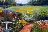 Elaine's Garden II Print by Carol Elizabeth