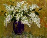 Blue Lilacs Kunstdrucke von Elizabeth Van Riper