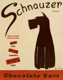Barres Schnauzer Posters par Ken Bailey