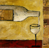 White Wine Posters by Judi Bagnato