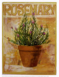 Rosemary Posters by Carol Elizabeth