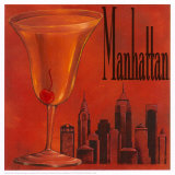 Manhattan Print by Renee Bolmeijer