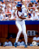Darryl Strawberry - Batting Action Photo