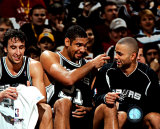2005 - Manu Ginobili / Tim Duncan / Tony Parker Photo
