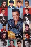 Elvis Presley (Fotomontage) Poster