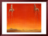 The Elephants, 1948 Posters by Salvador Dalí