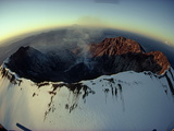 Aerial View of the Mount St. Helens Crater Taken after the Eruption Photographic Print by Steve Raymer