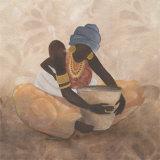 Mütterliche Liebe Poster von Carol Robinson