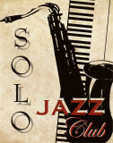 Solo Jazz Club Art by Kelly Donovan