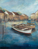 Tranquil Harbor I Posters by Ruane Manning