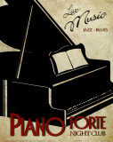 Piano Forte Posters by Kelly Donovan