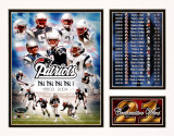 New England Patriots - 21 Game Win Streak Impression avec bordure