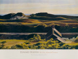 Collines au sud de Truro, 1930 Poster par Edward Hopper