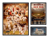 Boston Red Sox 2004 World Series Champs Impression avec bordure