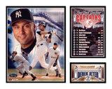 Derek Jeter - Yankees Captain Impression avec bordure