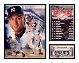 Derek Jeter - Yankees Captain Matted Print
