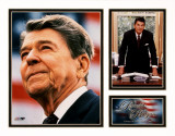 Ronald Reagan Milestones &amp; Memories Matted Print