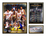 Detroit Pistons - 2004 NBA Champs Matted Print