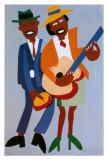 Blind Singer Posters par William H. Johnson