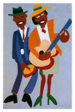 Blind Singer Posters by William H. Johnson