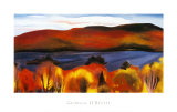 Georgia O'Keeffe - Lake George, Autumn, 1927 - Reprodüksiyon