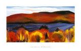Lago George, otoño, 1927 Lámina por Georgia O'Keeffe
